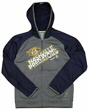 Reebok NHL Hockey Youth Nashville Predators Center Ice Hoodie Sweatshirt