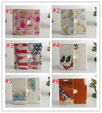 Flower Magnetic wallet PU Leather stand cover case for NOKIA X2 #3