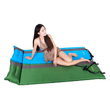 Self-Inflating Air Mattress Bed Splicing Moisture Proof Sleeping Pad 2 Colors