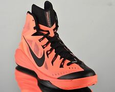 Nike Hyperdunk 2014 mens lunar basketball shoes NEW bright mango black