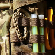 Trendy Molle Tactical EDC Gear Backpack Carabiner Snap Big Clip D-Ring Key Ring