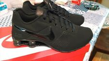 CLASSIC MENS NIKE SHOX DELIVER RUNNING SHOES Black/Black Stitching  NEW STYLE!!
