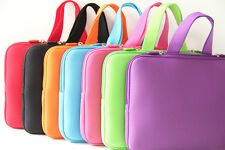 """Pure Color Laptop Sleeve Case Bag Cover For 15"""" 15.6"""" HP DELL ASUS Toshiba Acer"""