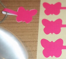 Butterfly Jewellery Price Stickers 16 x 54mm Tags / Labels / Dumbells