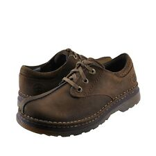 Men's Shoes Dr. Martens Nevin 3 Eye Butt Seam Oxfords 12668301 Dark Taupe *New*