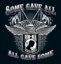 POW MIA  Some Gave All   All Gave Some 2XL and 3XL t-shirt Army Marines Navy AF
