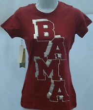 Alabama Crimson Tide Ladies Short Sleeve T-Shirt Campus Couture Crimson