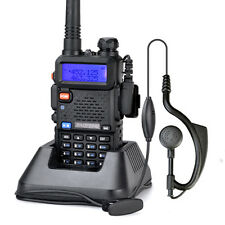 HOT BAOFENG UV-5R VHF/UHF Dual Band Ham 2-way Radio Tranceiver+ free earpiece
