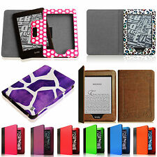Multi-Color Leather Flip Case Auto Wake/Sleep Cover for Amazon Kindle Paperwhite