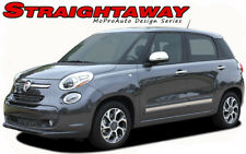 2014 Fiat 500L Side Upper Body Panel Strobe Vinyl Stripes 3M Decals Graphics