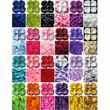 500PCS Silk Rose Flower Petals Leaves Bridal Wedding Party Beach Favors Supply