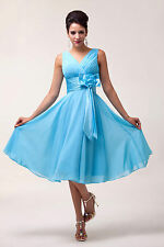 Homecoming Party Prom Dress Wedding Bridesmaid Cocktail Short Dress Summer CHEAP