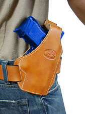 New Barsony Tan Leather Pancake Gun Holster for Walther Steyr Compact 9mm 40 45