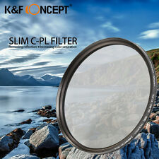 Super Slim CPL Circular Polarizer Polarizing Lens Filter 52 55 58 67 72 77 82mm