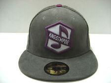 KING STAMPEDE CORDUROY FITTED CAP GREY