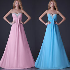 PROMOTION Formal Bridesmaid Skirt Evening Party Cocktail Ball Gown Prom Dresses