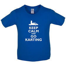 Keep Calm and Go Karting - Kids / Childrens T-Shirt -  Go Kart - GoKarting
