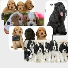 Cocker Spaniel Puppies Dogs Case iPhone 4 4S 5 5S 5C 6 6+ Galaxy S3 S4 S5 Note 4