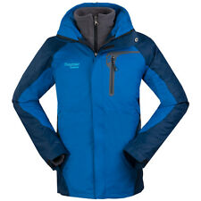 New Mens Winter 3in1 Jacket Waterproof Hiking Coat Ski Climbing Hooded Clothes