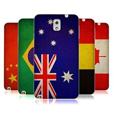 HEAD CASE VINTAGE FLAGS SET 1 TPU GEL BACK CASE FOR SAMSUNG GALAXY NOTE 3 N9002