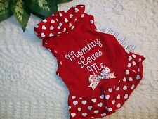 RED Heart MOMMY LOVES ME DRESS Pet Dog Cat Wag-a -tude XXS XS S M new Petco