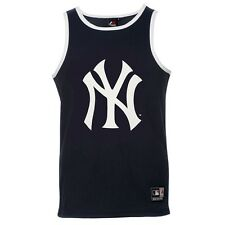 Majestic MLB New York Yankees Coulson Sports Vest Shirt NEW A1NYY4150NVY012 navy