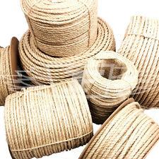 10mm, NEW NATURAL SISAL ROPE COILS, DECKING, GARDEN, CAT SCRATCHING POST PARROT