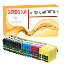 20 Compatible Ink Cartridge For Epson Stylus Expression Home Workforce Printer
