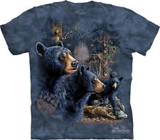Find 13 Black Bears 3481 Mountain Tshirt grizzly kodiak polar brown zoo olympic