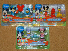 DISNEY - MICKEY MOUSE CLUBHOUSE 2 FIGURE PACKS - 3 SETS TO CHOOSE FROM...