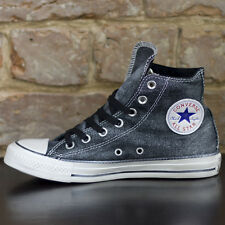 Converse All Star Hi Trainers New in box Brushed Black Size UK sizes 3,4,5,6,7,8