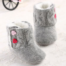 New Arrival Gray Cute Baby Girl Soft Warm Beautiful Toddler Boots for 0-12month