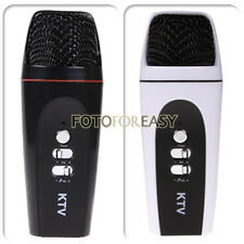 Mini Pocket Microphone Karaoke Player Home KTV Recorder for Cell phone iPhone PC