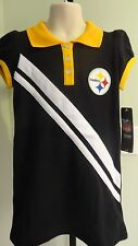 NWT NFL Team Apparel Pittsburgh Steelers Little Girl's Polo Dress: Sizes  4-6X