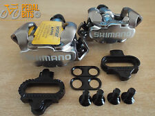 Shimano M520 SPD MTB Pedals With or without Cleats Genuine Boxed