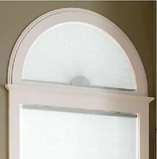 NEW with DEFECTS Half Round Arch Cellular Shade Light-Filtering Honeycomb Shade