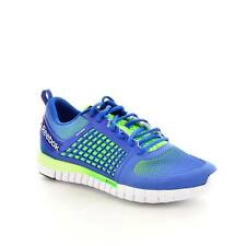 Reebok Mens Running Shoes M44709 Zquick Electric Blue Synthetic-And-Mesh