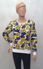 Primark LADIES Official Universal Studios DESPICABLE ME MINIONS Lounge Jumper