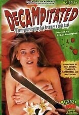 Decampitated (Horror, Comedy, Gore, DVD, 2003) TROMA Like New