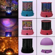 Romantic Colourful Cosmos Star Sky Master LED Projector Lamp Night Light Gift