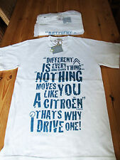 Citroen related T-shirt - Different is everything...