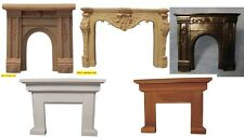 dolls house miniature 1:12  selection of fireplace surround 5 to choose from.