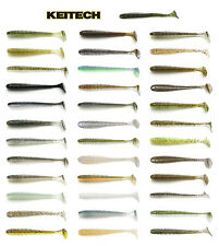 "KEITECH SWING IMPACT SWIMBAIT 3.5"" (3.9 CM) 8 PACK choose colors"