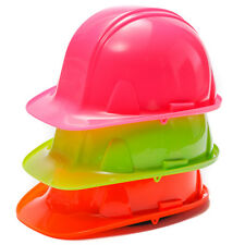 Pyramex High Vis Safety Hard Hat With Ratchet Headgear Adjustment High Visibili