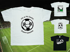 SWANSEA CITY Football Baby/Kids T-shirt - 4 DESIGNS - Name/Number on back- FREE!