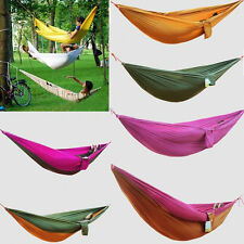 High-quality Double Parachute Cloth Outdoor Swing Lightweight Breathable Hammock