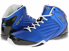 AND1 AND 1 Mens D1072MMBW Master 2 Mid Basketball Shoes [ Royal Blue / Black ]