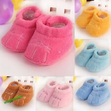 New Cotton Kids Toddler Boys Girls Unisex Skid-proof Soft  Warm Sole Baby Shoes