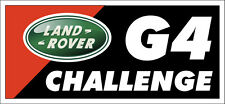 Land Rover G4 Challenge on Black Graphic T Shirt