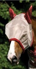 Amigo Fly Mask Protection With Ears All Sizes Harmful UV Rays Dirt Debris Flies